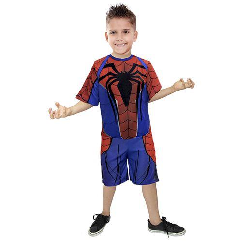 Fantasia Homem Aranha Infantil Sem Mascara Heróis