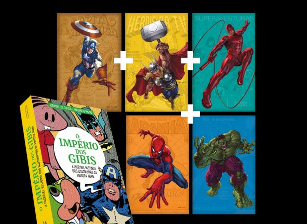 SUPERCOMBO HEROICA #1: Livro + Dossiês 1 a 5