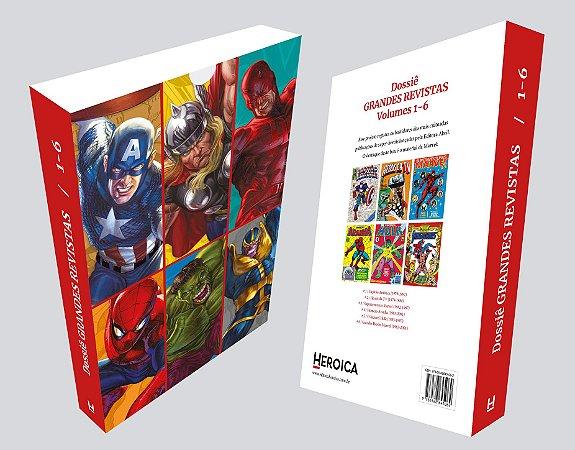 SUPERCOMBO HEROICA #1: Dossiês 1 a 6 + Caixa + Extras