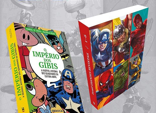 SUPERCOMBO HEROICA #2: Livro + dossiês 1 a 6 + Caixa + Extras