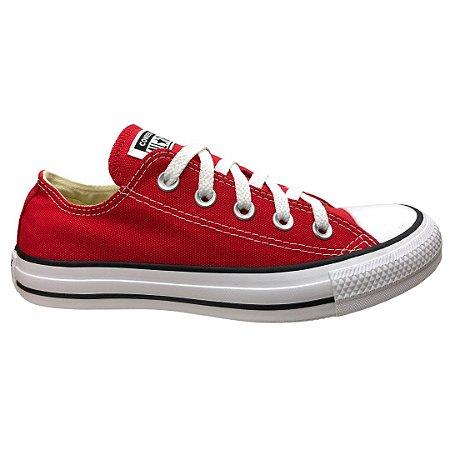 Tênis Unissex Converse Chuck Taylor All Star - CT00010004 - Vermelho-Cru-Preto