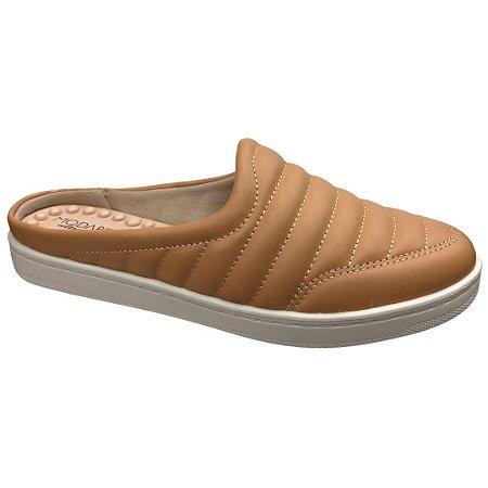 Sapato Feminino Babouche Modare Np Pele Strech - 7363.100 - Areia
