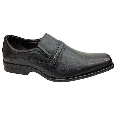 Sapato Masculino Venetto Social Couro - 1645A - Preto