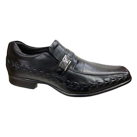 Sapato Masculino Rafarillo Social Couro - 79352 - Preto