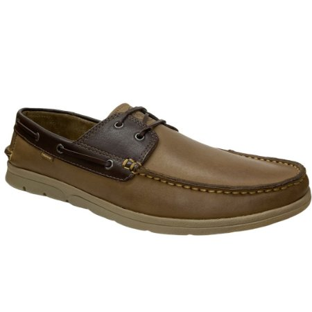 Sapato Masculino Freeway Dockside Couro - Rizzi - 2655 - Wax Sesamo