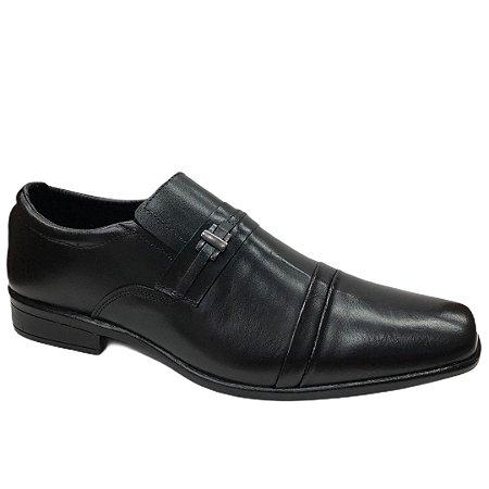 Sapato Masculino Venetto Couro - 2110A - Vegetali Preto
