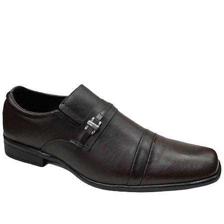 Sapato Masculino Venetto Couro - 2110B - Vegetali Café