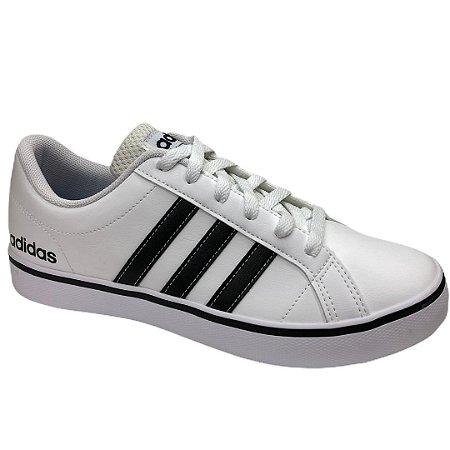 Tênis Masculino Adidas Vs Pace - AW4594 - Branco-Preto
