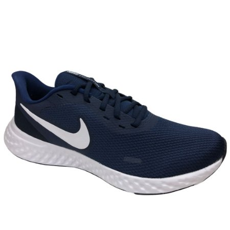 Tênis Masculino Nike Revolution 5 - BQ3204-400 - Azul