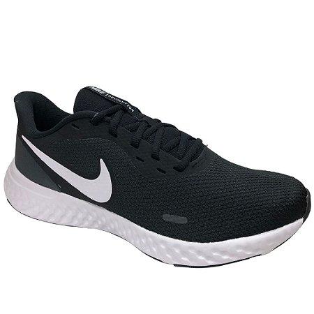 Tênis Masculino Nike Revolution 5 - BQ3204-002 - Preto