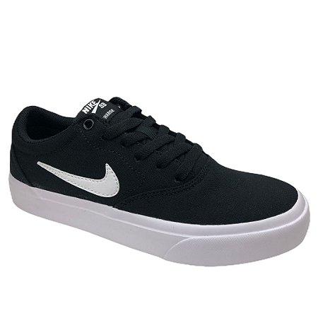 Tênis Infantil Nike Sb Charge Cnvs (Gs) - CQ0260-004 - Preto