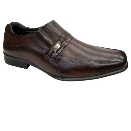 Sapato Masculino Rafarillo Social Couro - 45022-01 - Mogno