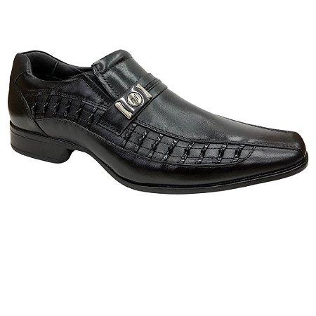 Sapato Masculino Rafarillo Social Couro - 79331-00 - Preto