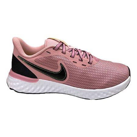 Tênis Feminino Nike W Revolution 5 Ext - CZ8590-600 - Rosa