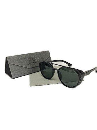 Óculos de Sol Ponte Dupla Com Detalhe Lateral Detrick