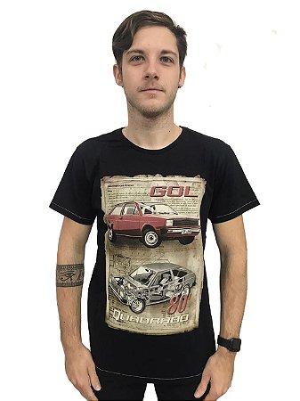 Camiseta Algodão Carros Gol