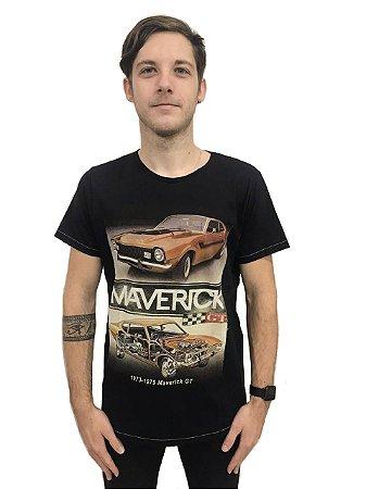 Camiseta Algodão Carros Maverick