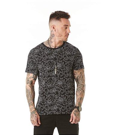 Camiseta Algodão Slim Full Puff