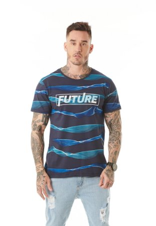 Camiseta Algodão Slim Future