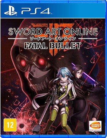 Sword Art Online Fatal Bullet Ps4 Game Go Games Geek Store