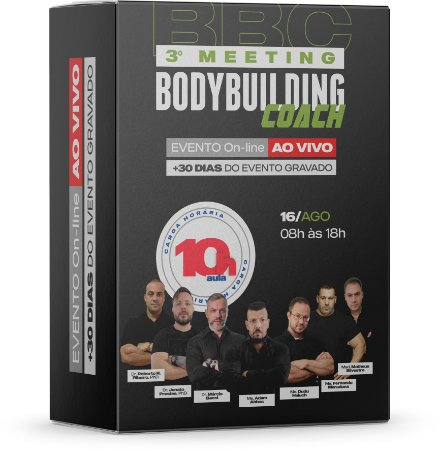3º Meeting Bodybuilding Coach