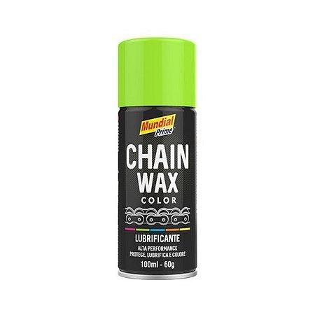 Lubrificante Corrente Verde Chain Wax Mundial Prime 100ml