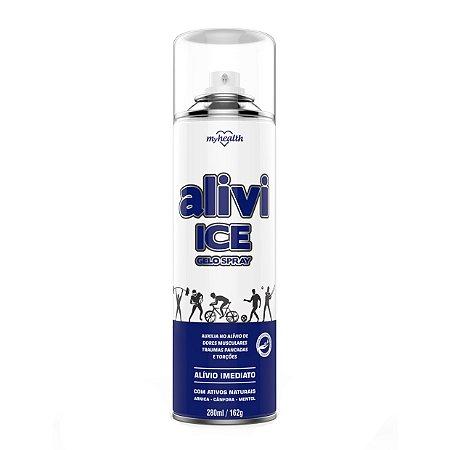 Gelo Spray Alive Ice Alivia Dor MyHelth 280ml