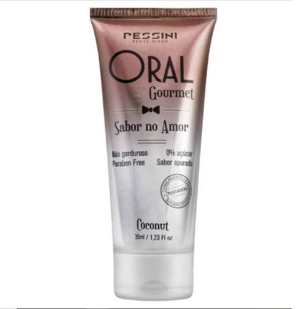 ORAL GOURMET COCONUT 35ML - PESSINI