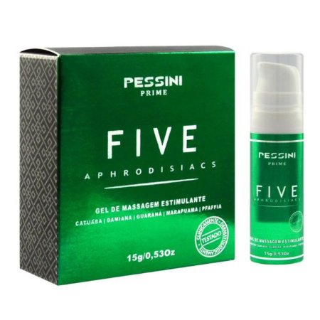 FIVE APHRODISIAC 15G - PESSINI