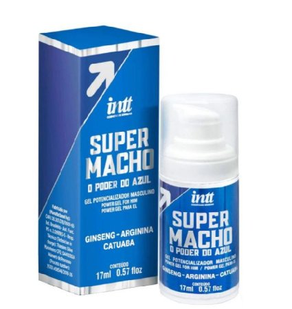 GEL FUNCIONAL SUPER MACHO 17ML - INTT