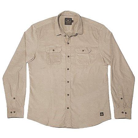 Camisa Veludo Cotele Vanilla