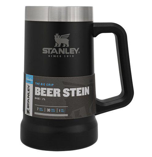 Caneca Térmica Stanley para Cerveja Preto Fosco 709ml