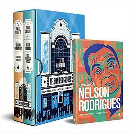 Teatro completo (box) + o melhor de Nelson Rodrigues