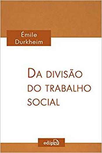 Livro - Da Divisão do Trabalho Social