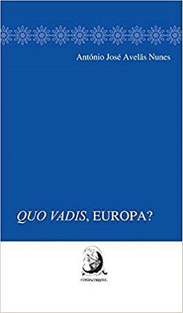 Livro - Quo Vadis, Europa?