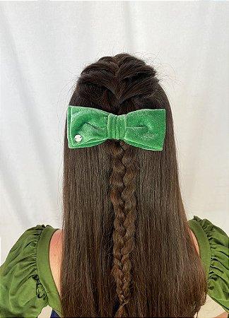 Laço Camila - Velvet Verde
