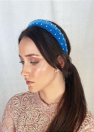 Tiara Blair - Velvet Azul Bordada