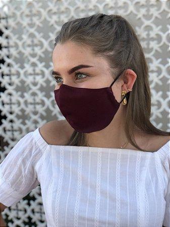 Máscara Vinho