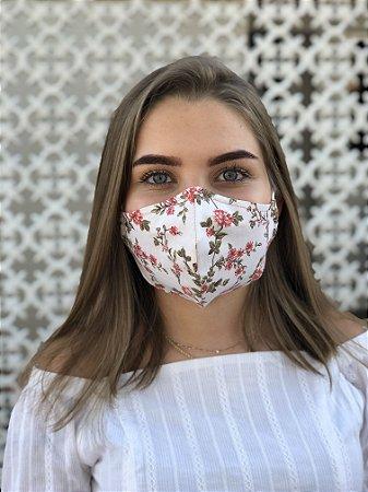 Máscara Floral