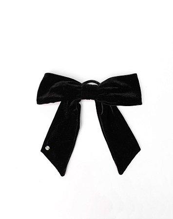 Scrunchie Antonella - Velvet Black