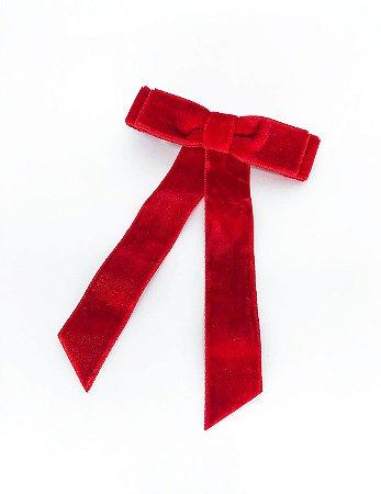 Laço Bella - Velvet Red