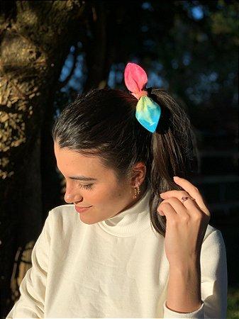 Scrunchie Tie Dye - Rainbow