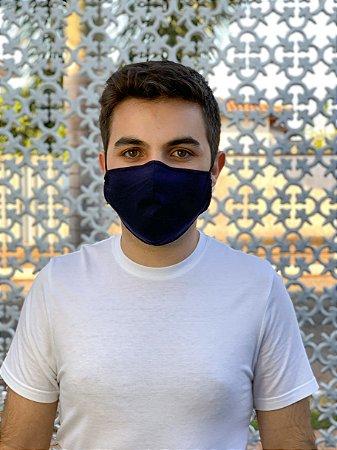 Máscara Antiviral Masc - Azul Marinho