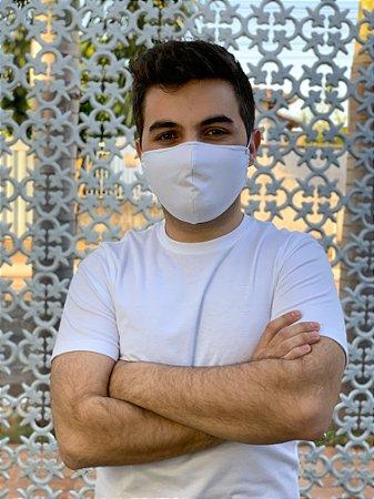 Máscara Antiviral Masc - Branca