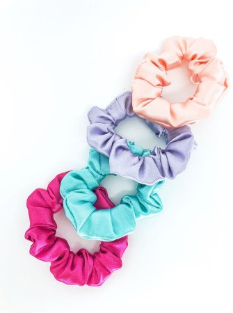 Combo Scrunchies Olivia - Satin Colors