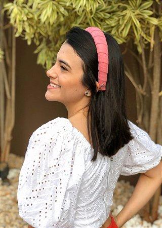 Tiara Mariana - Camurça Rosa