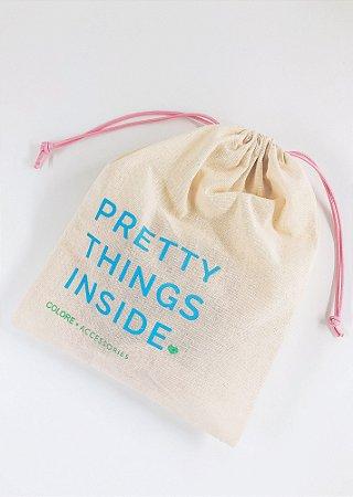 Saco Personalizado - Pretty Things Inside