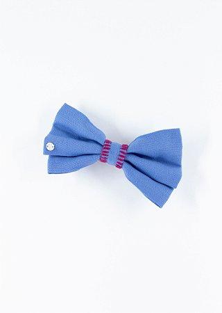 Laço Kamila Croché - Azul Jeans