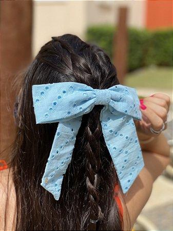 Scrunchie Antonella - Laise Azul Claro