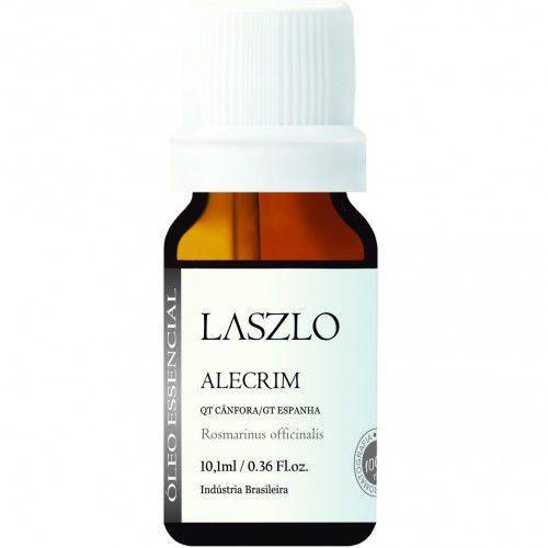 Óleo Essencial de Alecrim (QT Cânfora) 10,1 ml - Sem Agrotóxicos e 100% Puro - Laszlo